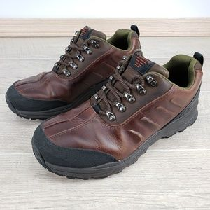 Vibram ROCKPORT Brown Leather Waterproof Shoes